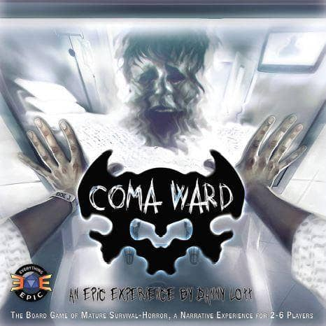 Coma Ward Ding & Dent Board Game Everything Epic Games KS000730B