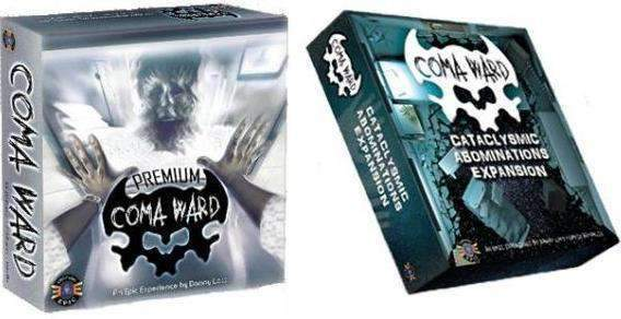 Coma Ward: Premium Pledge (Kickstarter Pre-Order Special) Kickstarter Board Game Everything Epic Games
