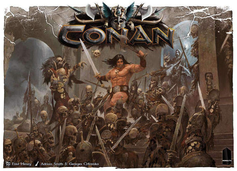 Conan Retail Board Game Monolith Mythic Games 3770000010862 KS000337