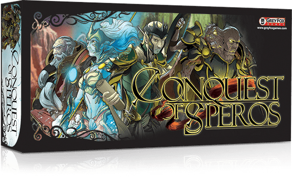 Conquest of Speros: Base Game Retail Board Game Grey Fox Games
