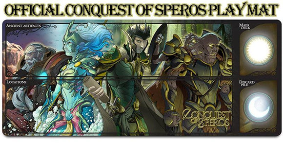 Conquest of Speros: Play Mat (Kickstarter Special) Kickstarter Board Game Accessory Grey Fox Games 0661799084284 KS000921C