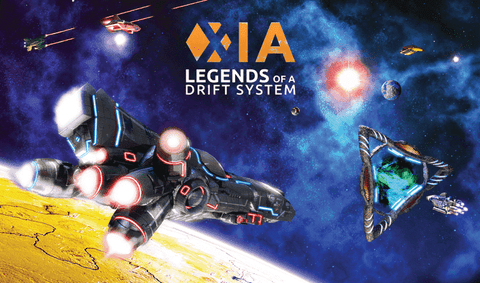 Xia: Legends of a Drift System (Retail Ding and Dent) Retail Board Game Far Off Games 748252116314 KSX00080B