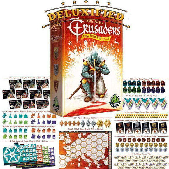 Crusaders Deluxified (Kickstarter Special) Kickstarter Board Game Tasty Minstrel Games KS000712