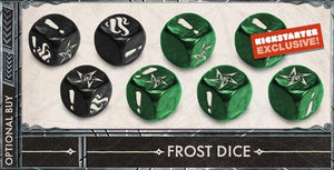 Cthulhu Death May Die: Custom Frost Dice (Kickstarter Pre-Order Special) Board Game Geek, Kickstarter Games, Games, Kickstarter Board Games, Board Games, Kickstarter Board Games Expansions, Board Games Expansions, CMON Limited, Cthulhu Death May Die, The Games Steward CMON Limited