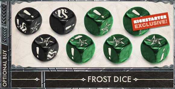 Cthulhu Death May Die: Custom Frost Dice (Kickstarter Special) Kickstarter Board Game Accessory CMON Limited KS000831C