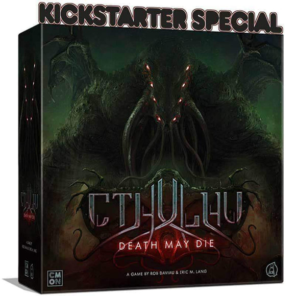 Cthulhu Death May Die: Unspeakable Pledge Bundle Ding & Dent (Kickstarter Special) Kickstarter Board Game CMON Limited KS000831F