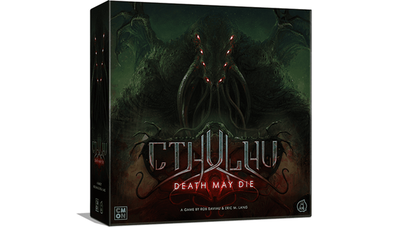 Cthulhu Death May Die: Unspeakable Pledge Bundle (Kickstarter Pre-Order Special) Board Game Geek, Kickstarter Games, Games, Kickstarter Board Games, Board Games, CMON Limited, Cthulhu Death May Die, The Games Steward, Cooperative Play, Variable Player Powers Games CMON Limited