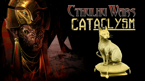 Cthulhu Wars: 13 Cats Just Figures (CW-Cats) (Kickstarter Pre-Order Special) Kickstarter Board Game Expansion Petersen Games KS000869S
