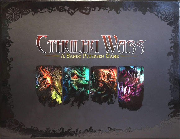 Cthulhu Wars: 6-8 Player Map - Library of Calaeno (CW-M9) Retail Board Game Supplement Petersen Games KS000669J