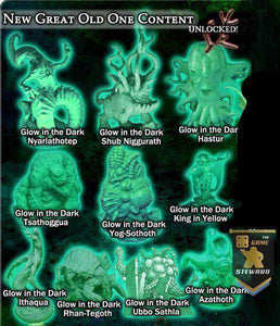 Cthulhu Wars: Glow In The Dark Miniatures Collection (CW-GL02) (Kickstarter Special) Kickstarter Board Game Accessory Petersen Games KS000868B