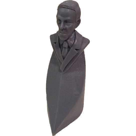 Cthulhu Wars: HP Lovecraft Bust: First Player Marker (CW-U6) (Kickstarter Special) Kickstarter Board Game Accessory Petersen Games KS000210Y