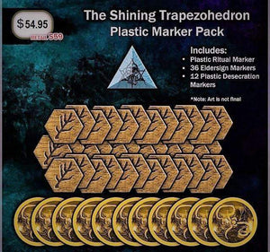 Cthulhu Wars: Shining Trapezohedron Plastic Marker Pack (CW-E15) Retail Board Game Arclight
