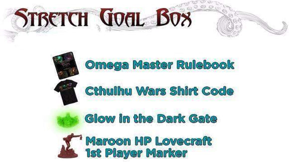 Cthulhu Wars: Stretch Goal Box (Kickstarter Pre-Order Special) Kickstarter Board Game Supplement Arclight