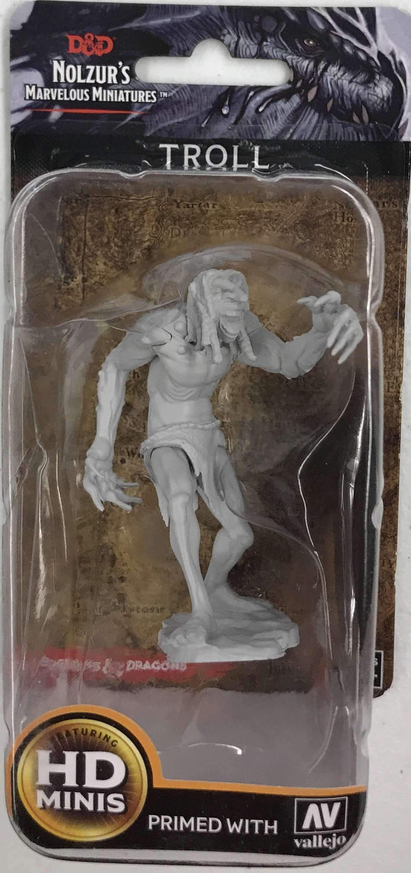 D&D Nolzur's Marvelous Miniatures HD Minis Troll Retail Game Accessory WizKids