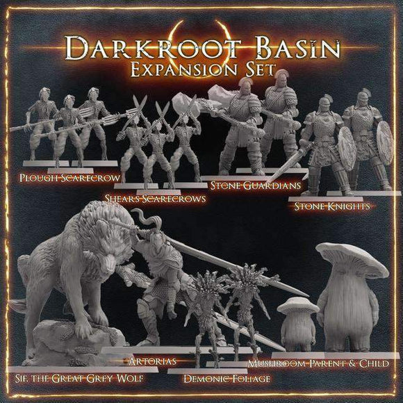 Dark Souls: Darkroot Basin Expansion Pre-Order Retail Board Game Expansion Steamforged Games Ltd.