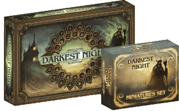 Darkest Night: Second Edition plus Miniatures Bundle (Kickstarter Special) Kickstarter Board Game Victory Point Games 0610585961667 KS000071A