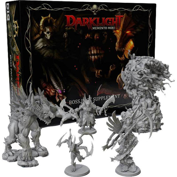 Darklight Memento Mori: Boss Pack Supplement (Kickstarter Special) Kickstarter Board Game Supplement Dark Ice Games