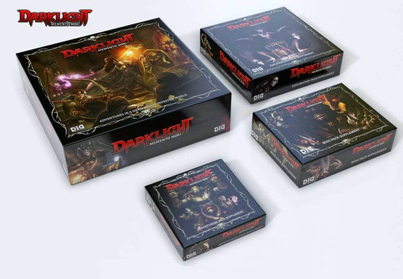 Darklight: Memento Mori Bundle (Kickstarter Special) Kickstarter Board Game Dark Ice Games