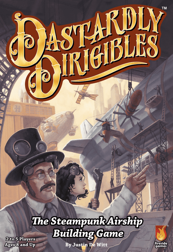 Dastardly Dirigibles Retail Card Game Fireside Games 0850680002111 KS000691