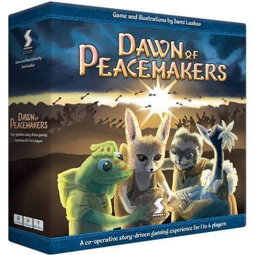 Dawn of Peacemakers (Kickstarter Ding & Dent Special) Retail Board Game Snowdale Design