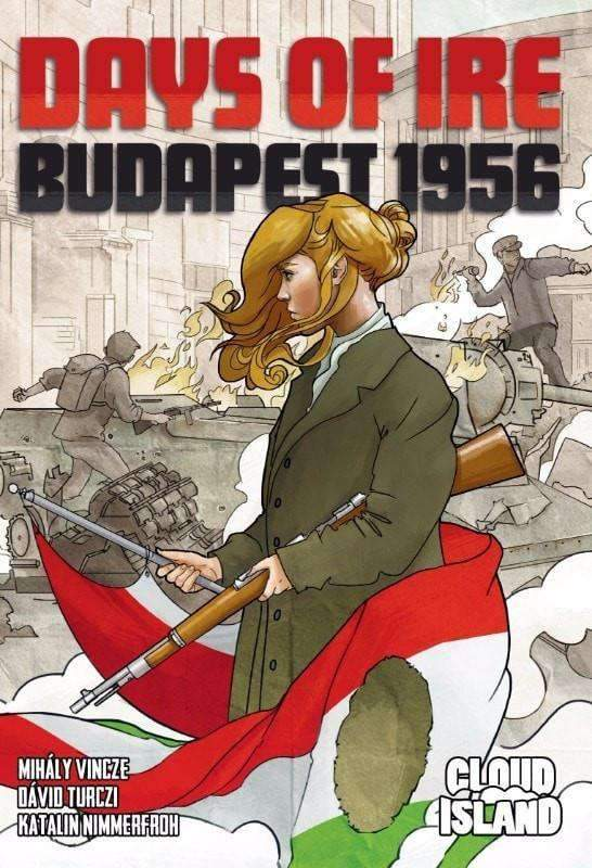 Days of Ire: Budapest 1956 (Kickstarter Special) Kickstarter Board Game Cloud Island 0609456648783 KS000070