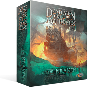Dead Men Tell No Tales: Kraken Expansion plus Miniatures (Kickstarter Pre-Order Special) Kickstarter Board Game Expansion The Game Steward 21028140 KS000742A