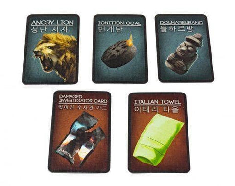 Deception: Korean Promo Pack Retail Card Game Expansion Grey Fox Games KS000723L