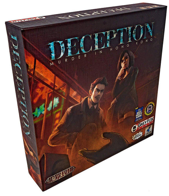 Deception: Murder in Hong Kong (Retail Edition) Retail Card Game Grey Fox Games 0616909967612 KS000723F