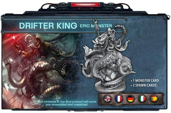Deep Madness: Drifter King Epic Monster (Kickstarter Special) Kickstarter Board Game Supplement Diemension Games 850368008541 KS000001H