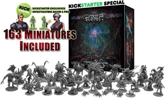 Deep Madness Investigator Pledge (Kickstarter Pre-Order Special) Kickstarter Board Game Diemension Games