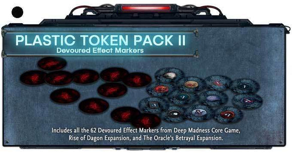 Deep Madness: Plastic Token Pack II (Retail Pre-Order) Retail Board Game Accessory Diemension Games