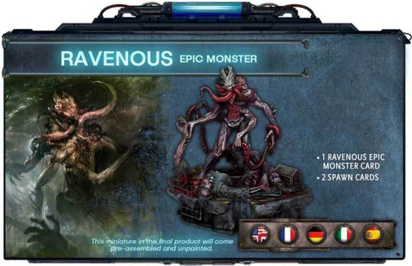 Deep Madness: Ravenous Epic Monster Pre-Order Retail Board Game Supplement Diemension Games