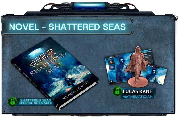 Deep Madness: Shattered Seas Novel (Kickstarter Pre-Order Special) Kickstarter Board Game Accessory Diemension Games