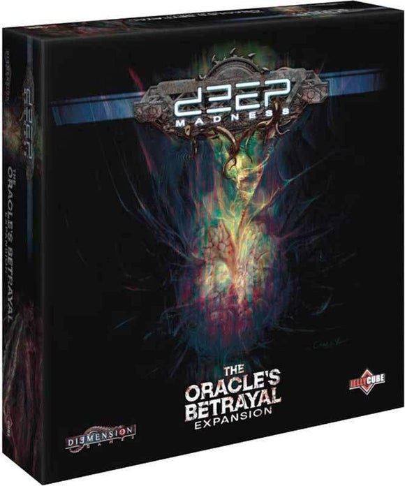 Deep Madness: The Oracle's Betrayal Expansion (Kickstarter Pre-Order Special) Kickstarter Board Game Expansion Diemension Games