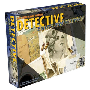 Detective: City of Angels Bullets Over Hollywood (Kickstarter Pre-Order Special) Kickstarter Board Game Expansion Van Ryder Games KS000724B