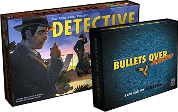 Detective: City of Angels - Hardboiled Detective Pledge Bundle (Kickstarter Pre-Order Special) Kickstarter Board Game Van Ryder Games