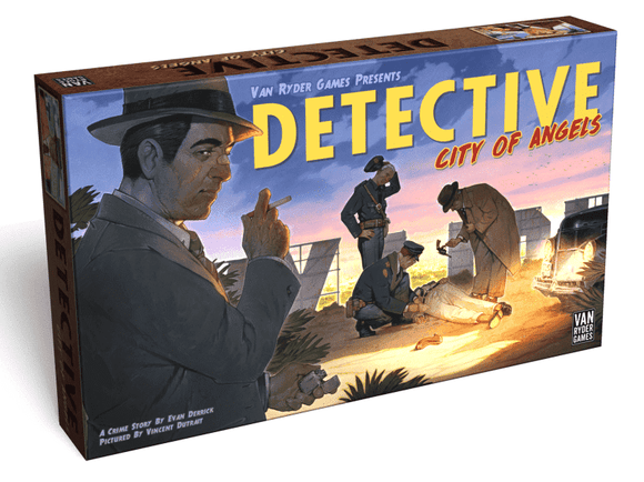 Detective: City of Angels (Kickstarter Pre-Order Special) Kickstarter Board Game Van Ryder Games KS000724A