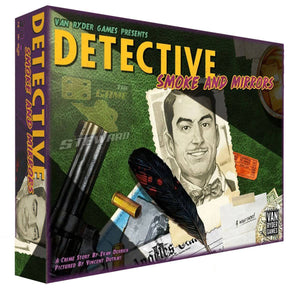 Detective: City of Angels Smoke and Mirrors (Kickstarter Pre-Order Special) Kickstarter Board Game Expansion Van Ryder Games KS000724C