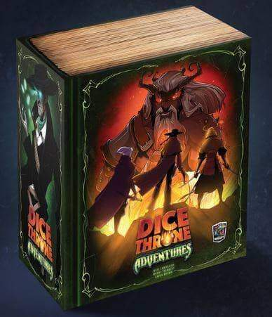 Dice Throne: Adventures Bundle (Kickstarter Pre-Order Special) Kickstarter Board Game Expansion Roxley Games KS000624B