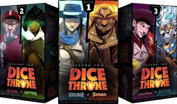 Dice Throne: Season 2 Champion Pledge With Battle Chest (Kickstarter Pre-Order Special) Kickstarter Board Game Roxley Games