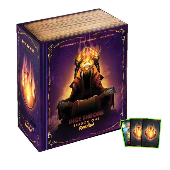 Dice Throne: Season One Re-Rolled Battle Chest Pledge with Rerolled Promo Pack (Kickstarter Pre-Order Special) Kickstarter Board Game Roxley Games KS000624A