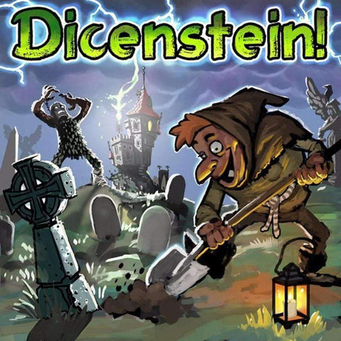 Dicenstein! (Kickstarter Special) Kickstarter Board Game Green Eye Games 0680569977908 KS000218