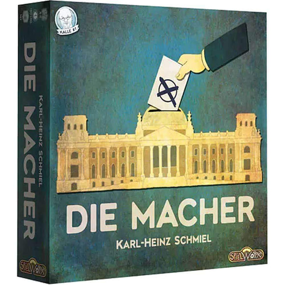 Die Macher: Limited Edition Pledge (Kickstarter Pre-Order Special) Retail Board Game Hans im Glück