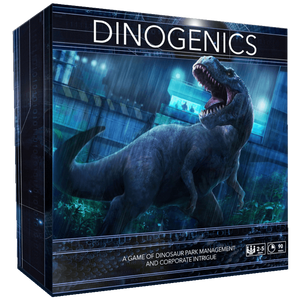 DinoGenics: Dinosaur Park Management (Kickstarter Special) Kickstarter Board Game Ninth Haven Games 78293292 KS000077X