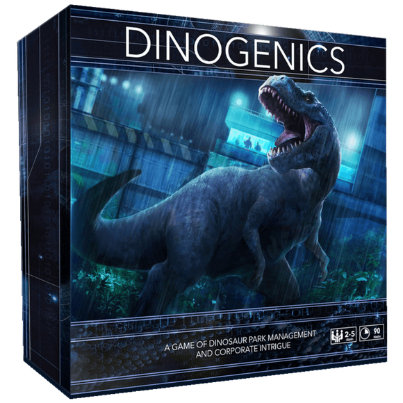 DinoGenics: Dinosaur Park Management (Kickstarter Special) The Game Steward