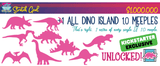 Dinosaur Island: Totally Liquid Expansion Extreme Edition (Kickstarter Pre-Order Special) Kickstarter Board Game Expansion Pandasaurus Games