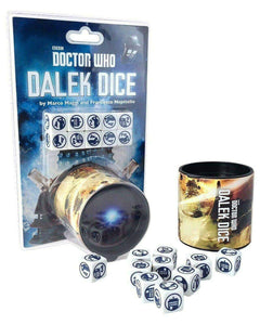Doctor Who: Dalek Dice Board Game Geek, Games, Dice Games, Dice Games, Cubicle 7 Entertainment, Dalek Dice, The Games Steward Kickstarter Edition Shop, Dice Rolling Games, Marco Maggi, Francesco Nepitello Cubicle Seven 9780857442598 KS000694B