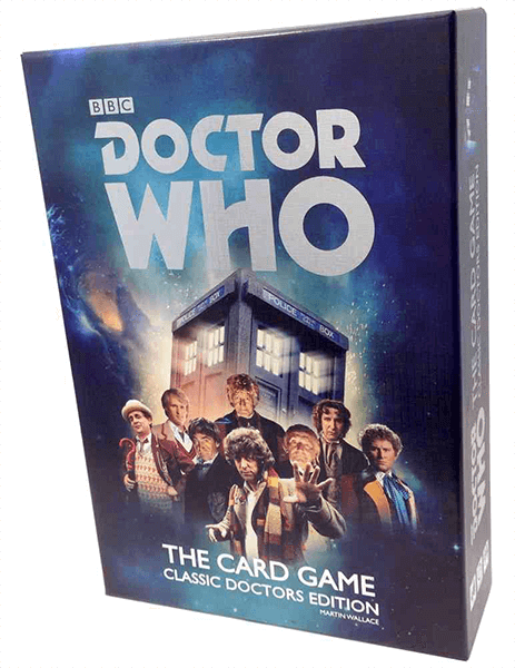 Doctor Who: The Card Game Retail Card Game Cubicle Seven 9780857442413 KS000694A