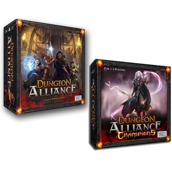 Dungeon Alliance: Champions' Alliance Pledge with Adventure Packs (Kickstarter Special) Kickstarter Board Game Quixotic Games KS000845A