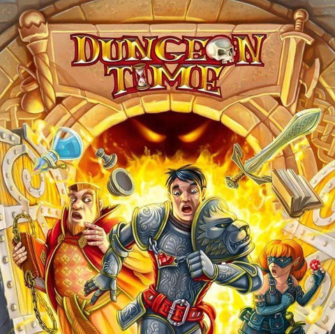 Dungeon Time - A Cooperative Real Time Fantasy Card Game (Kickstarter Special) Kickstarter Card Game Ares Games 8054181513110 KS000055